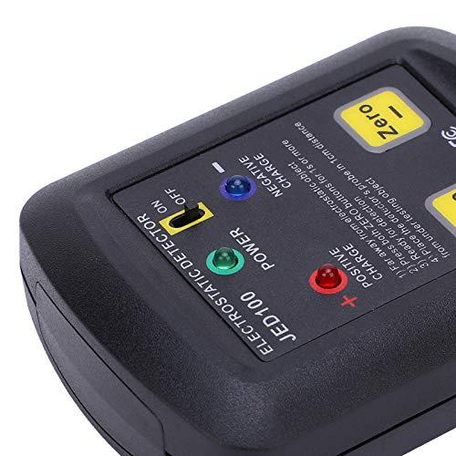 Probador de voltaje electrostático Rango de medición de voltaje 100v-20kv Tamaño pequeño, fácil de transportar y almacenar