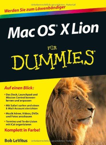 Download Mac OS X Lion für Dummies 352770759X