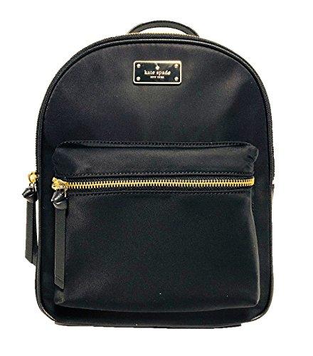 Kate Spade Small Bradley Wilson Road Backpack (Black)