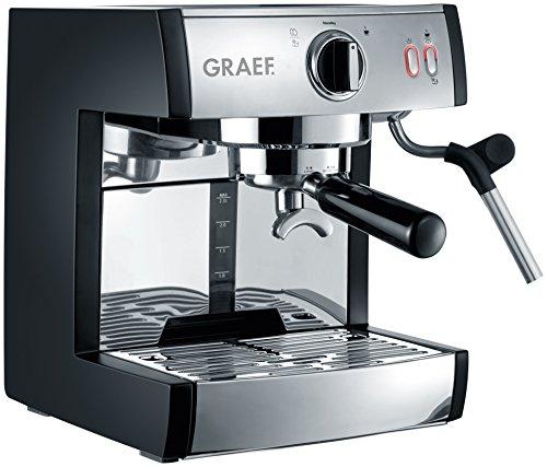 Graef Tchibo Cafissimo Independiente Totalmente automática Máquina Espresso 2.5L Negro, Acero Inoxidable Tchibo Cafissimo, Independiente, Máquina Espresso, 2,5 L, Granos de café, Cápsula