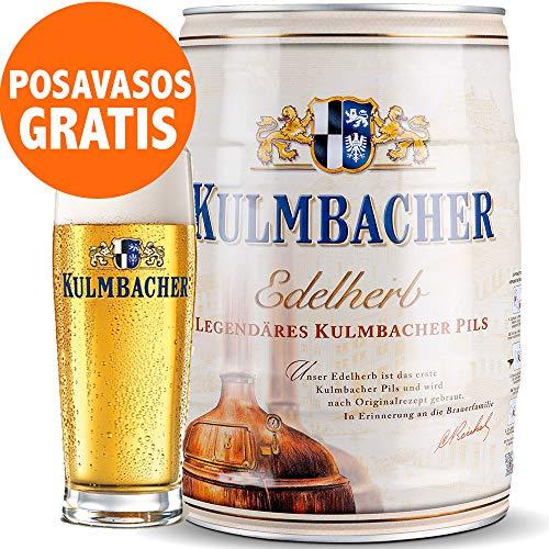 Barril Cerveza 5 Litros - Barriles de Cerveza 5 Litros con posavasos gratis - Barril Cerveza 5L - Cerveza Alemana Premium - Cerveza Barril - Barriles Cerveza - Regalos Cerveceros