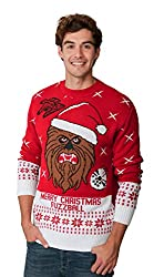 STAR WARS CHEWBACCA Super soft, warm and comfortable. Best quality material Brand new unique exclusive designs manufactured for Christmas 2017 A great quality Christmas jumper, the perfect gift this Christmas Sizes range is from Small - 4XL Made in t...