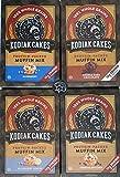 Kodiak Muffin Mix - Try them all - Plus Unique Fridge Magnet - Blueberry, Blueberry Lemon, Double Chocolate and Chocolate Chip Kodiak Cakes Muffin Mixes