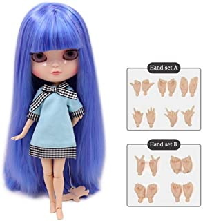 Dream fairy ICY dolls Fortune Days Toys 12 inch nude doll with natural skin and small breast joint body like blythe. (BL72166208, 30cm)