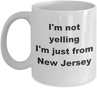 NJ Mug Funny Gag Gift Coffee Tea Cup White 11 oz