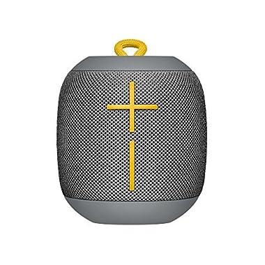 Logitech Ultimate Ears WONDERBOOM Super Portable Waterproof Bluetooth Speaker - Stone Grey(Certified Refurbished)