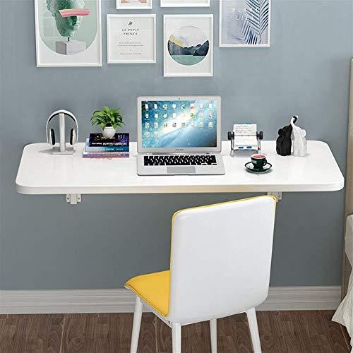 Mesa flotante plegable de pared, mesa de cocina, mesa de comedor, mesa de ordenador, mesa de piso plegable. Tamaño: 50 x 30 estantes de almacenamiento (tamaño: 60 x 30)