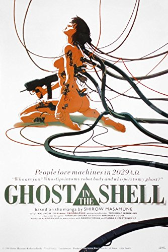 Close Up Póster Ghost in The Shell - Girl Machine (56cm x 86cm) + 1 póster Sorpresa de Regalo