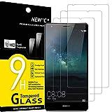 NEW'C 3 Stück, Schutzfolie Panzerglas für Huawei Mate S, Frei von Kratzern, 9H Festigkeit, HD Bildschirmschutzfolie, 0.33mm Ultra-klar, Ultrawiderstandsfähig