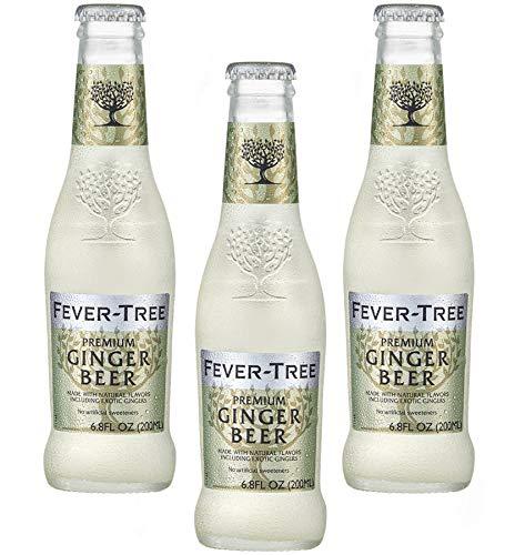 Sicilia Bedda - Ginger Beer Fever Tree - Prodotto con 3 Tipi di Zenzero - Bevanda Unica - Formato 200 Ml x 3 Bottiglie