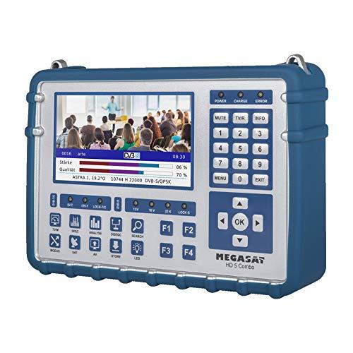 MegaSat 2600014 SAT-Messgerät HD-5 Combo blau
