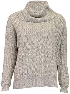 e8bce2266ce3 Maglione da donna Brave Soul donna con trecce a maglia collo a cappuccio  maglia pullover inverno