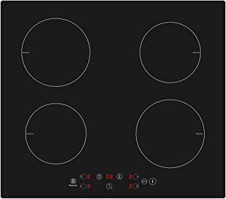 Placa de inducción de 4 zonas, placa de cocina eléctrica