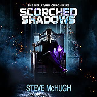 Page de couverture de Scorched Shadows