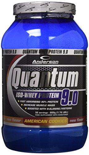 Anderson Research Quantum 9.0 Integratore Alimentare in Polvere al Gusto di  Biscotti Americani - 800 g