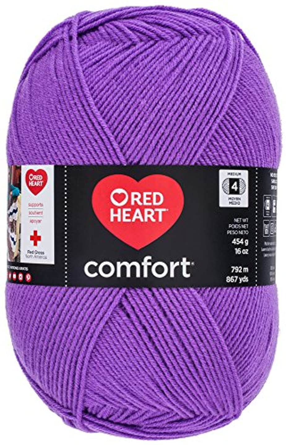 Red Heart Comfort Yarn, Amethyst