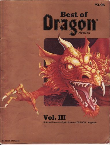 Best of Dragon Magazine, Vol. III