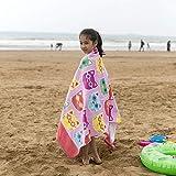 Telo Mare Asciugamano da Bagno Ispessito in Aumento Cartamodelli in Puro Cotone per Il Bagno Asciugamano da Spiaggia Grande Morbido, Fondotinta Piccolo in Kitty (160 * 80Cm), 160X80Cm