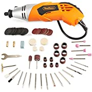 VonHaus Rotary Tool/Multitool Combitool Multi Purpose Heavy Duty 170W with 120PC Accessory Set & Storage Case – Variable Speed Switch
