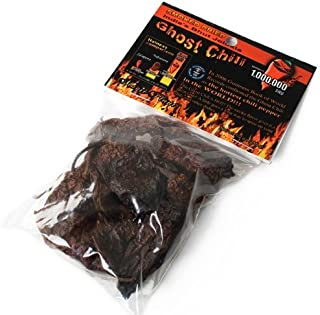 Organic Dried Smoked Ghost Chili - Whole Pods (0.5 ounce)