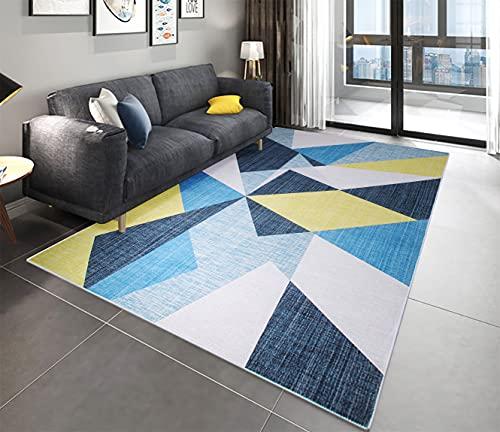 Alfombras De Habitacion Grande Azul alfombras de habitacion  Marca Milnsirk