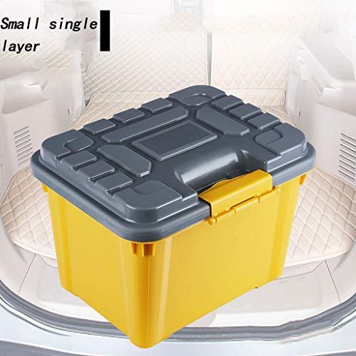 CZGJX gereedschapskist auto opslag doos auto Trunk opslagdoos multifunctionele kleine enkele laag