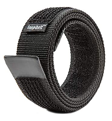 Loopbelt L 40-44 No Scratch Reversible Web Belt with Advanced Hook & Loop Fasteners
