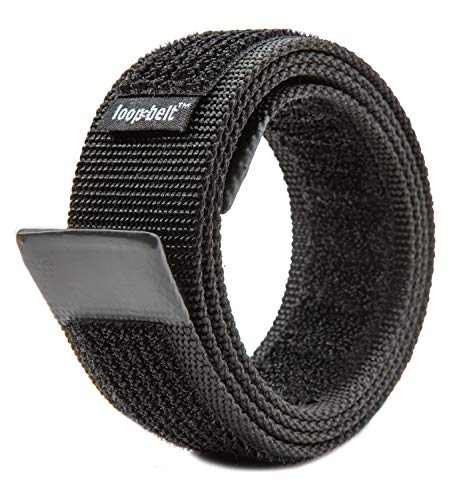 Loopbelt S 28-32 No Scratch Reversible Web Belt with Advanced Hook & Loop Fasteners