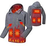 Photo de Cenow Electric Jacket, Washable USB Powered Heated Winter Heated Jacket Warm Winter Jacket with 3 Levels Adjustable Temperature.