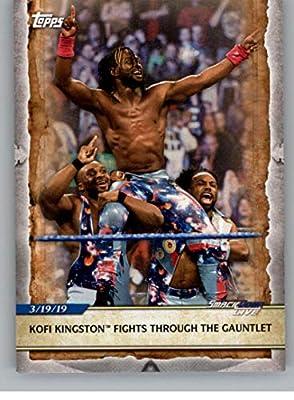 2020 Topps WWE Road to WrestleMania #94 Kofi Kingston Wrestling Trading Card