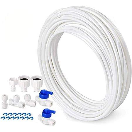 Tuyau d'alimentation en eau Tspkey - Kit de connexion pour réfrigérateur Samsung double porte de style européen, diamètre 10mm