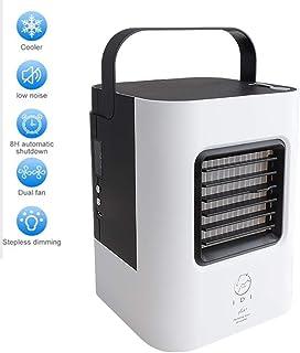 Acondicionador de Aire Móvil Enfriador De Aire Portátil, 3 En 1 Acondicionador De Aire Y Humidificador Desodorante 3 Velocidades Ventilador De Enfriamiento Móvil Para Oficina En El Hogar Al Aire Libre