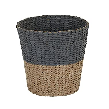 Household Essentials ml-6620 Cattail and Paper Waste Basket, Two Tone