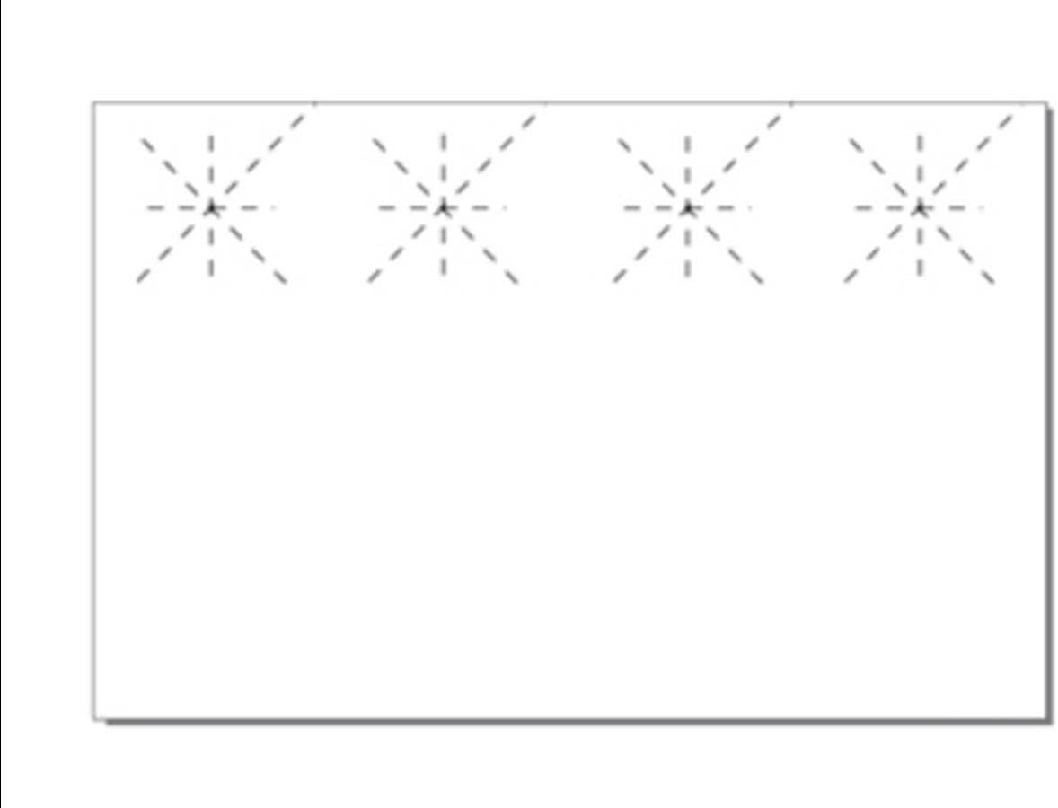 Print-Ready Over item handling Door Hanger w Starburst Hole on 4-1 11