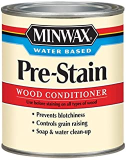 Minwax 618514444 Water-Based Pre- Stain Wood Conditioner, quart
