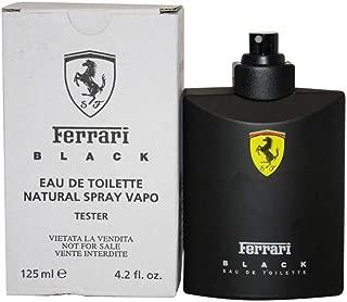 FERRARI SCUDERIA BLACK by Ferrari EDT SPRAY 4.2 OZTESTER