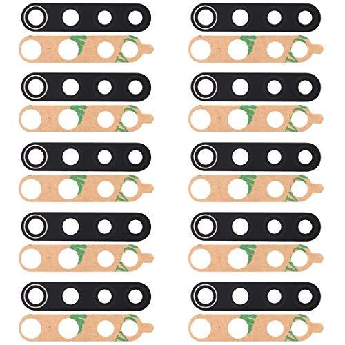 kangruwl Reemplazar revisión por Partes telefónicas 10 PCS Atrás Lente de la cámara para Xiaomi Redmi Note 8 Accesorio