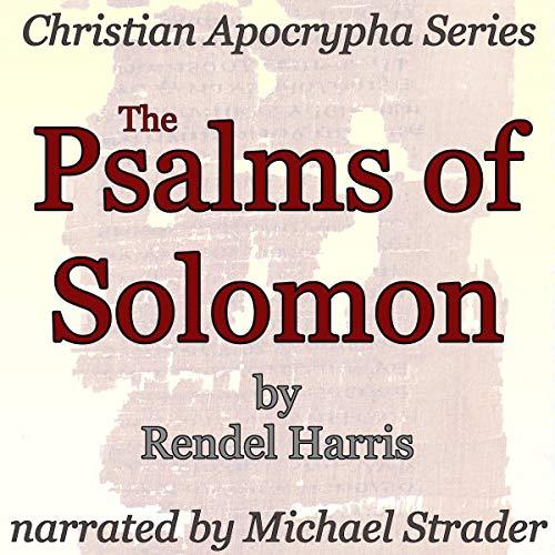 The Psalms of Solomon audiobook cover art
