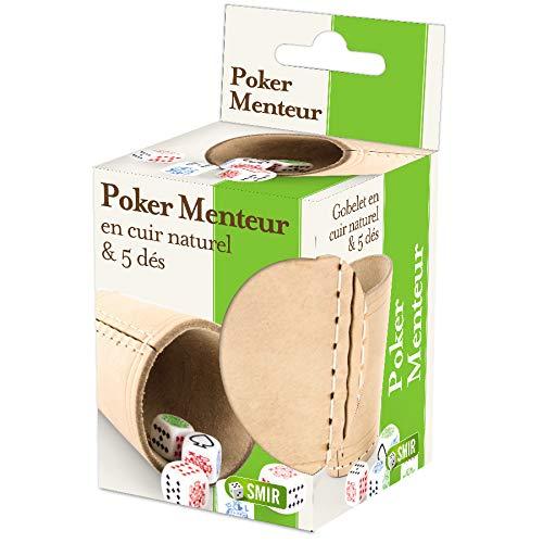 Smir- Vaso Poker Mensador, 130007094, Cuero