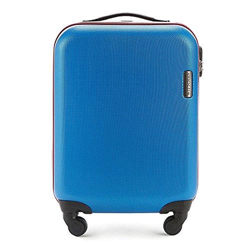 WITTCHEN Unisex-Erwachsene Koffer & Trolleys , (Blau), 81.0x28.0x54.0 cm