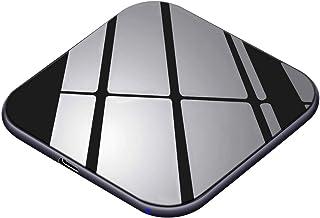 Te-Rich 15W Máximo Cargador inalámbrico Cargador Qi 10W para Samsung Galaxy y Note 10/10+/9/S10/S9/S8+/S8/Huawei P30Pro,7.5W para iPhone 11/11Pro/11Pro MAX/XS MAX/XR/X/XS/8 Plus/8