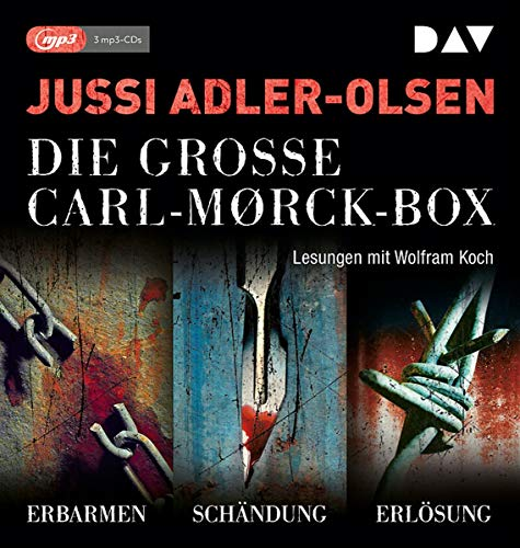 Die große Carl-Morck-Box 1: Lesungen mit Wolfram Koch (3 mp3-CDs) (Carl-Mørck-Reihe)