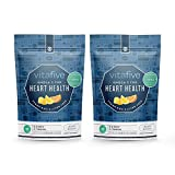 Vitafive Heart Health Omega 3 DHA Gummy Vitamins Supports Optimal Brain Neurological Function (2 Pack) Eco Friendly, Natural Flavor, Vegetarian, Gluten Free, Allergen Free, Kosher, Halal