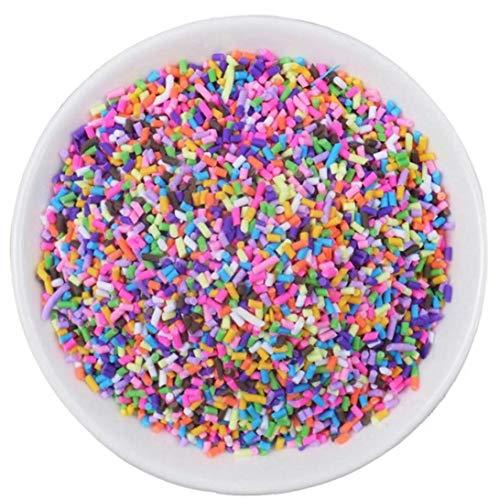 Hotaden 20g Sprinkles for Slime Filler Addition Accessories Clay Fluffy Slime Supplies Beads Cake Dessert Mud Toys Kit