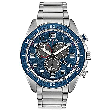 Citizen Watches Men's AT2440-51L Eco-Drive Silver Tone One Size