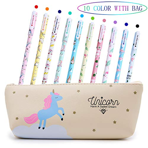 Bolígrafos de unicornio para niñas