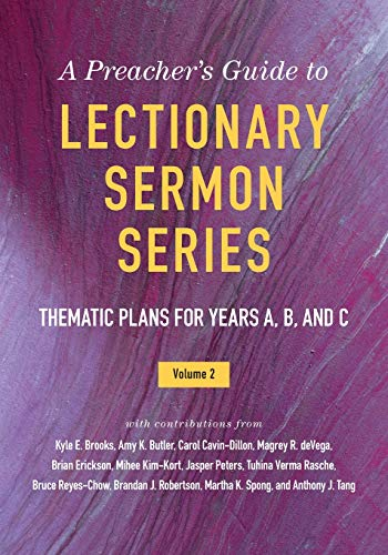 Compare Textbook Prices for A Preacher's Guide to Lectionary Sermon Series: Thematic Plans for Years A, B, and C  ISBN 9780664264635 by Brooks, Kyle  E.,Kelley, Jessica Miller