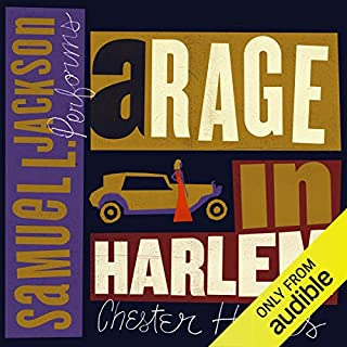 A Rage in Harlem audiobook cover art
