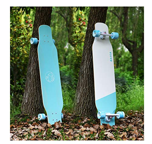 Purchase XUEYING-KickScooter Longboard Boys and Girls Beginners Skateboard Flat Flower All-Around Bo...