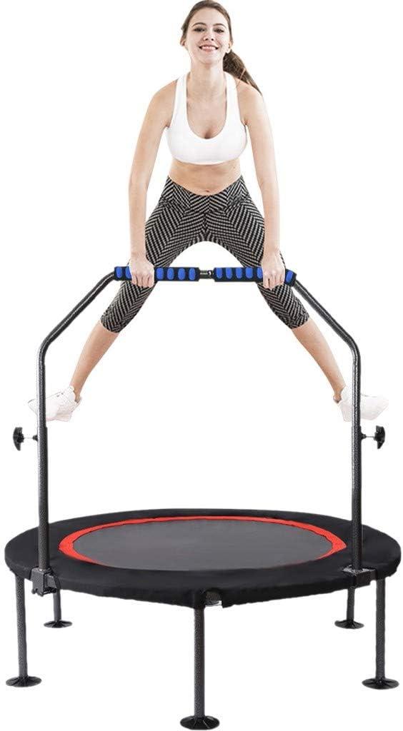 48'' Mini Trampoline Folding Fitness Max 53% OFF Trampoli Max 68% OFF Indoor